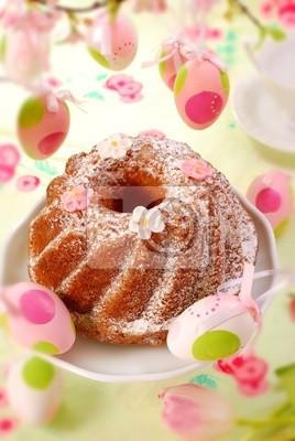 Obraz easter ring cake