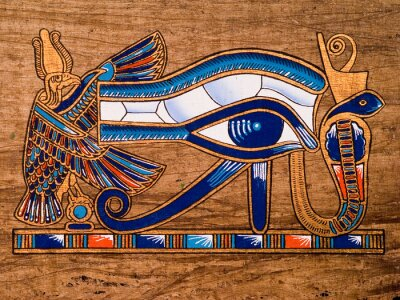 Egipski papirus, Oko Horusa