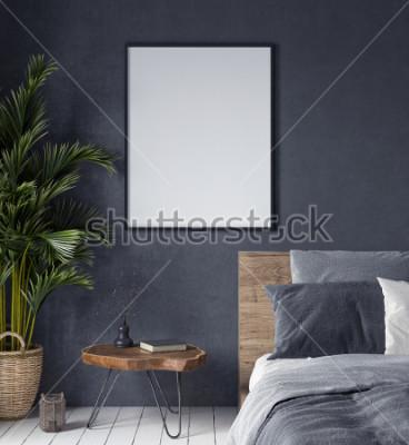 Obraz Egzamin próbny w górę plakaty w sypialni wnętrz, etniczny styl, 3d odpłaca się