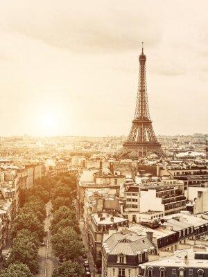 Obraz Eiffel od Łuku Triumfalnego