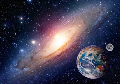 Obraz Elementy tego zdjęcia dostarczone przez NASA.