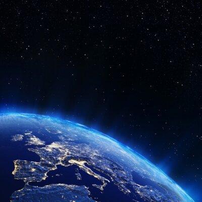Obraz Europa światła miasta