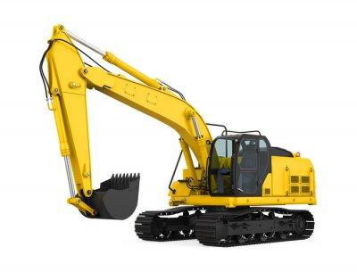 Obraz Excavator Isolated