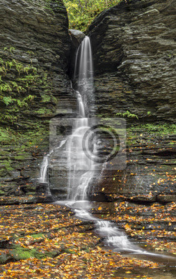 Excelsior Glen Lower Falls - Watkins Glen, New York