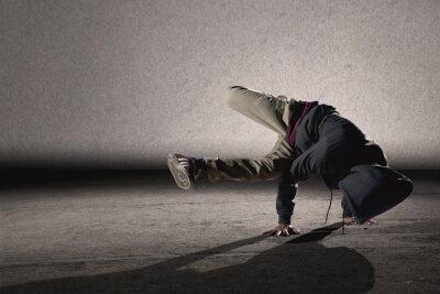 Obraz Fajne stylu breakdance