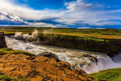 Falls on the Hvitau River