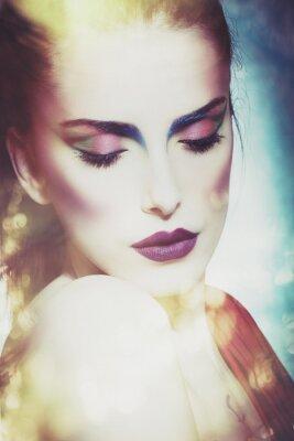 Obraz fantazji piękno kobiety