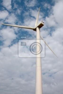 Farma wiatrowa wiatrak