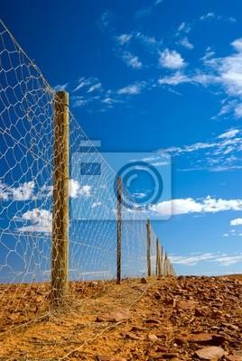 Fence Dog pobliżu Coober Pedy - najdłuższy na świecie płot