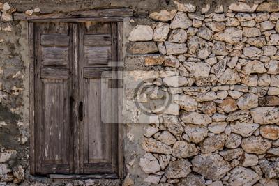 Fenster w Steinmauer