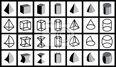 Figury Geometryczne Obrazy Na Sciane Obrazy Trapez Przedmiot