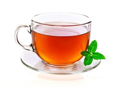 Obraz Filiżanka herbaty z mięty