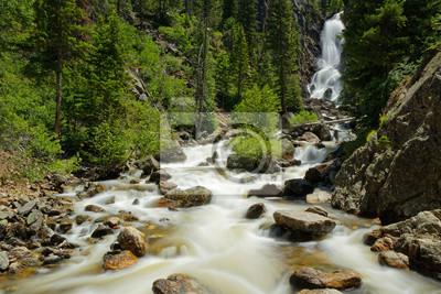 Obraz Fish Creek Falls near Steamboat Springs in Colorado
