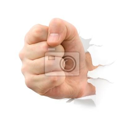 Fist wykrawania thru papieru
