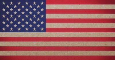 Obraz flaga Ameryki