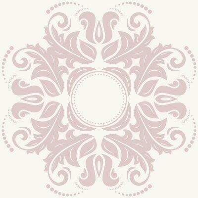 Obraz Floral Streszczenie Pattern
