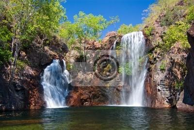 Florence Falls w Litchfield w północnej Australii