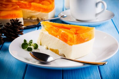Obraz Fruit cheesecake