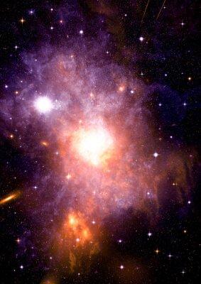 Obraz Galaktyka w wolnej przestrzeni