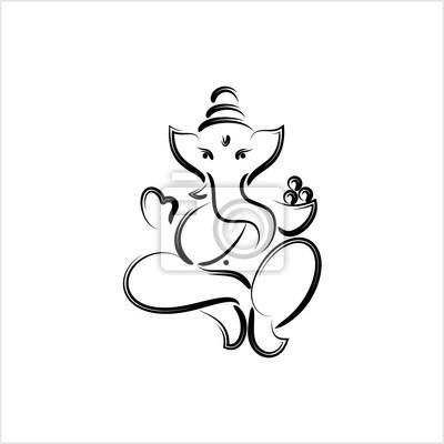 Obraz Ganesha The Lord Of Wisdom Design
