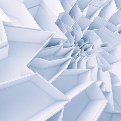 Obraz Geometryczne Streszczenie kolor tapety wielokąty