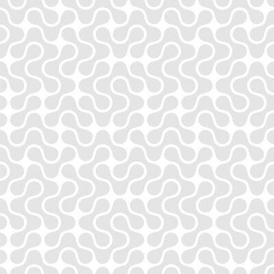 Obraz Geometryczne szwu. Ilustracji wektorowych
