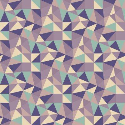 Obraz Geometryczne trójkąty tła. Mozaika.