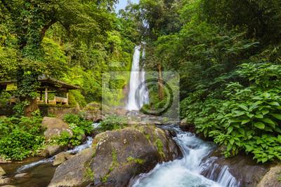 Gitgit Waterfall - wyspa Bali Indonezja