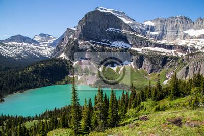 Obraz Glacier National Park Montana gór i jezior