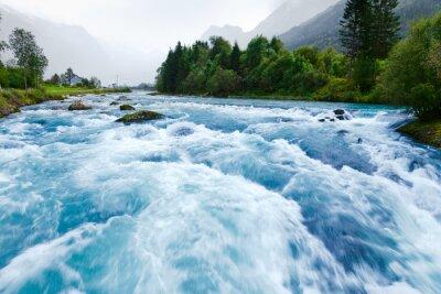 Obraz Glacier river