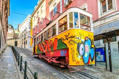 Obraz Gloria Linowych, Lizbona, Portugalia