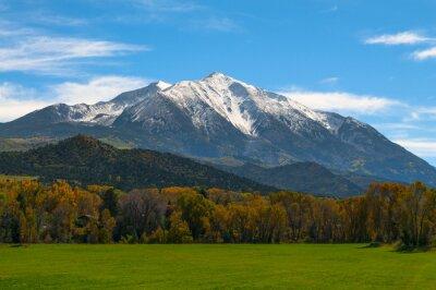 Obraz Góra Sopris Elk Góry Kolorado - Spadek kolory