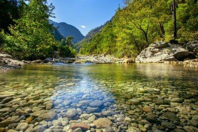 Obraz Górski potok
