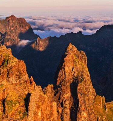 Obraz Góry w Maderze