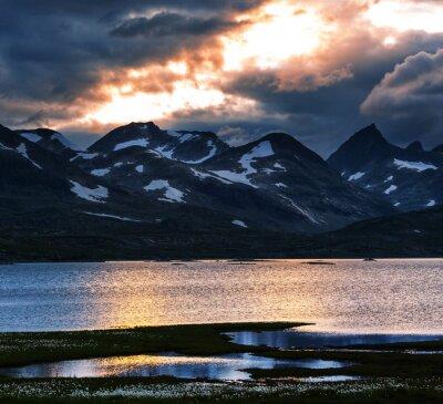 Obraz Góry w Norwegii