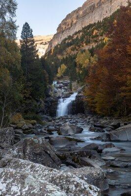 Gradas of Soaso, Falls on Arazas River, Ordesa and Monte Perdido National Park, Huesca, Spain