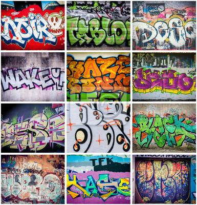 Obraz Graffiti couleurs