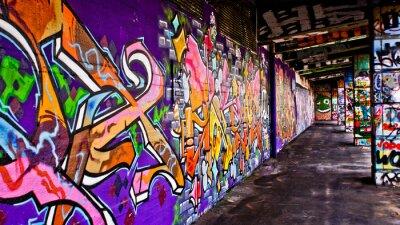 Obraz Graffiti Seks
