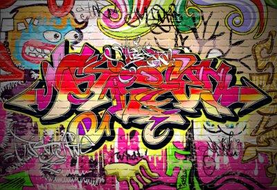 Obraz Graffiti sztuka tło wektor