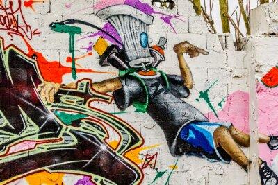 Obraz Graffiti sztuka ulicy