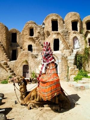Graneros en Medenine Tunezja