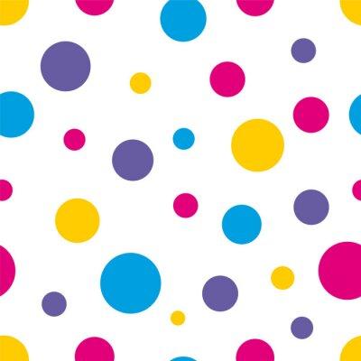 Obraz Grochy Jednolite kolorowe tło