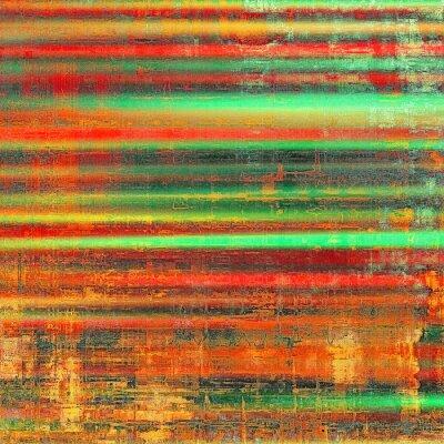 Obraz Grunge kolorowe tło. Z różnych wzorów kolor: żółty (beżowe); czerwona pomarańcza); Zielony; czarny