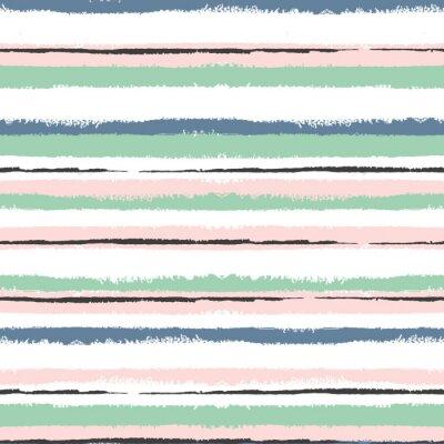 Obraz Grunge paski bezszwowe wzór, vintage tle, do owijania, tapety, tekstylne