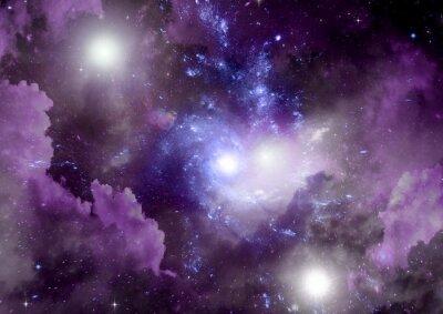 Obraz Gwiazd, pyłu i gazu mgławica