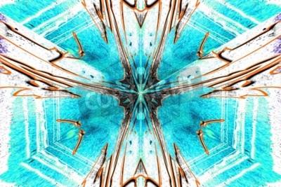Obraz Gwiazda abstrakcji symetryczne