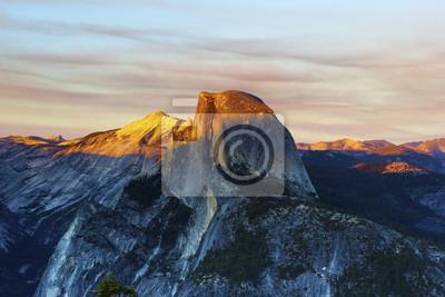 Half Dome Tramonto sull ', Yosemite National Park