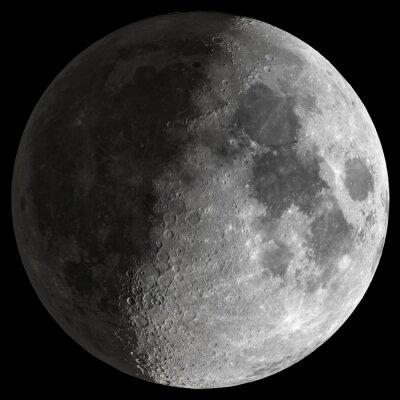 Obraz Half Moon z ostrymi szczegółami.
