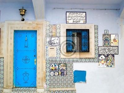 Hammamet typowy dom