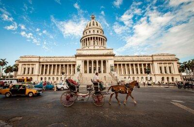 Obraz Hawana, Kuba - 07 czerwca: budynek Stolicą Kuby czerwca, 7 I 2011
